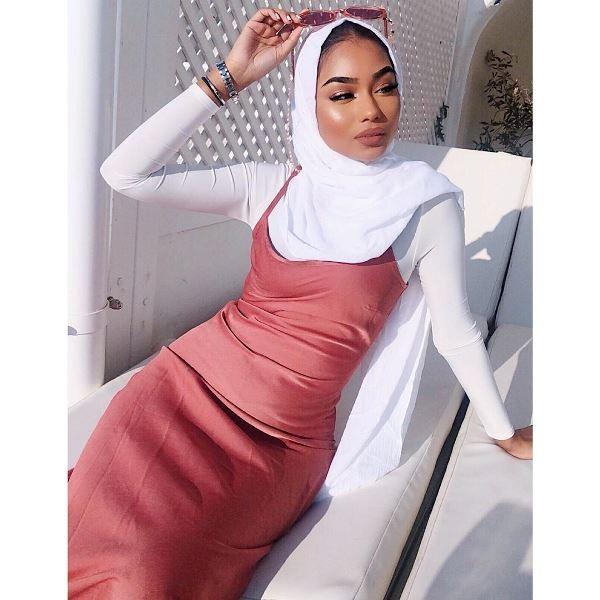 الحجاب النيود بمختلف تدرجاته