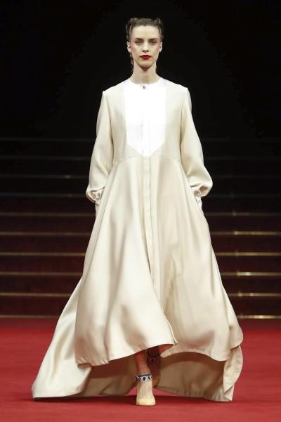 فستان  A line من ALEXIS MABILLE