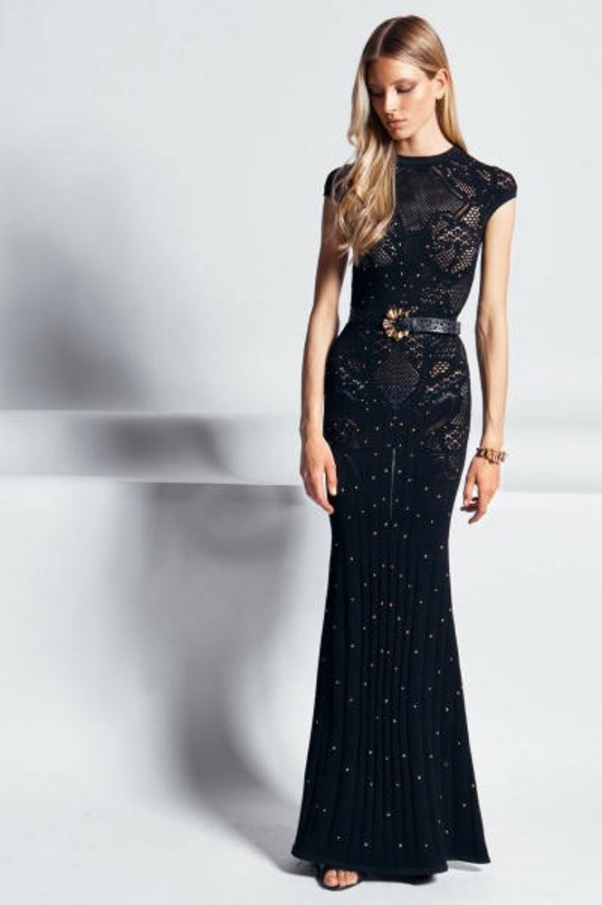 -Robes Sirène noire :