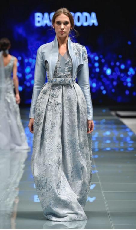 من عروض أسبوع الموضة العربي