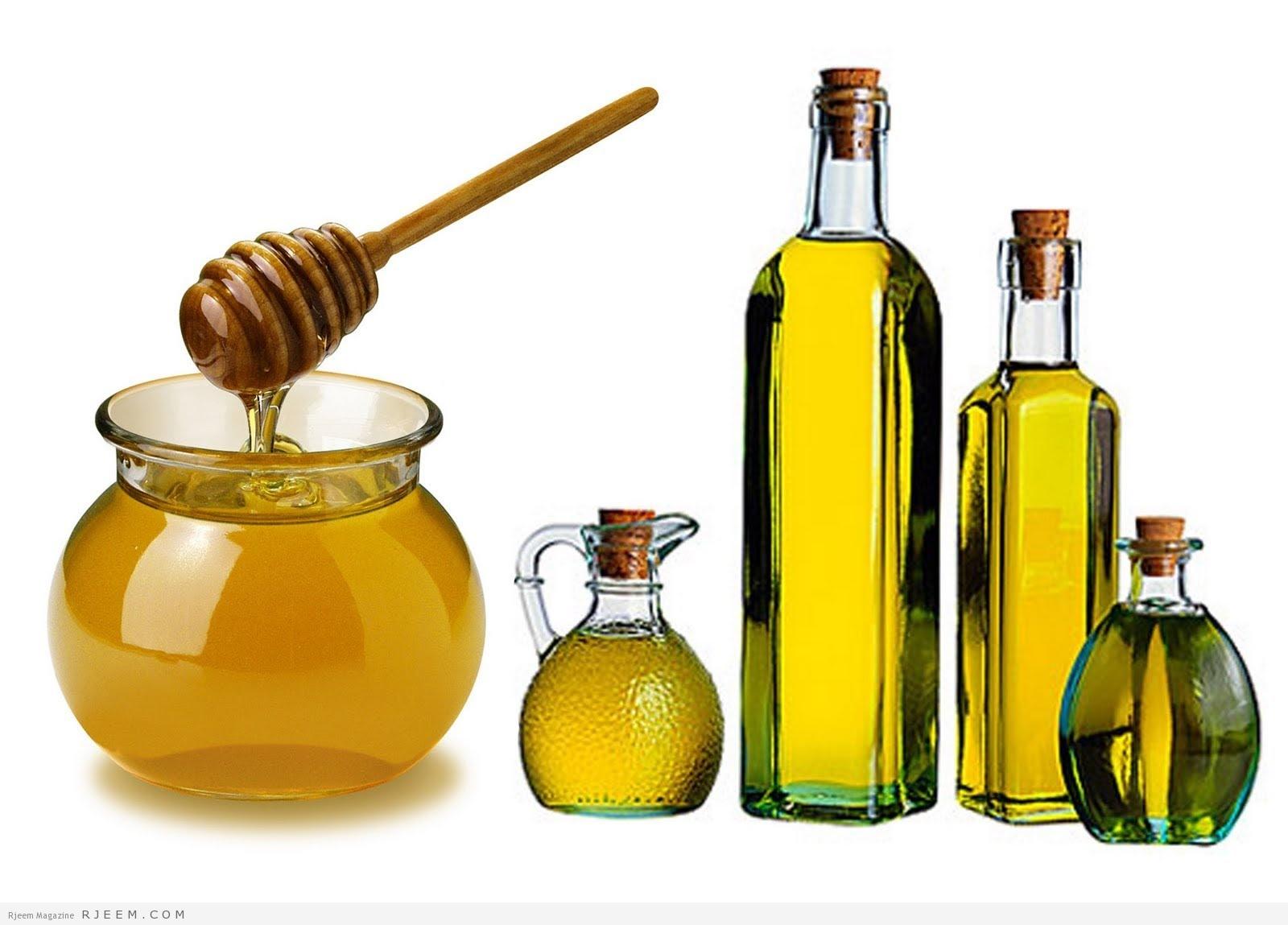 وصفة زيت الزيتون والعسل والبيض