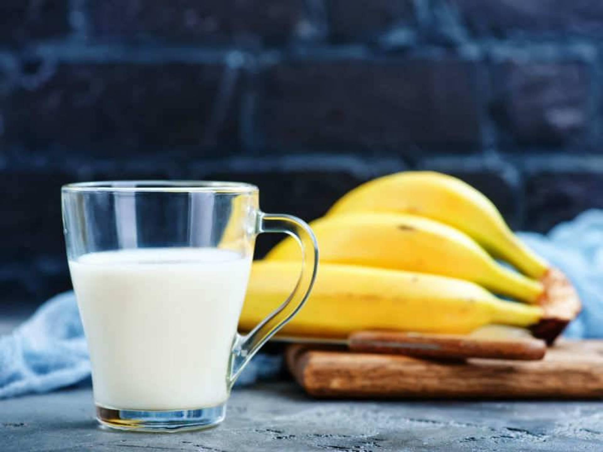 ماسك الموز واللبن
