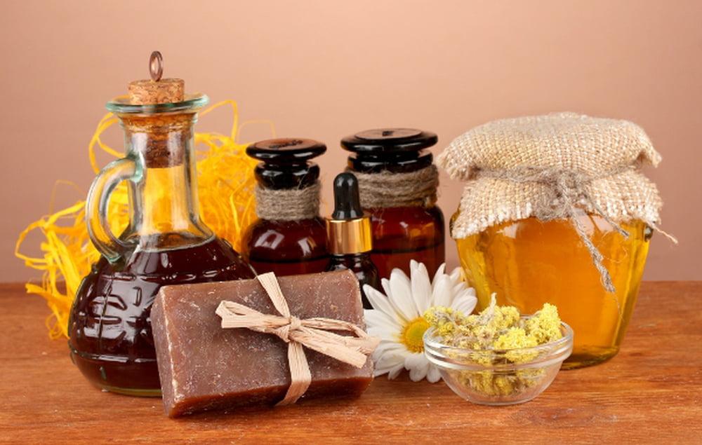 وصفة العسل والغليسرين