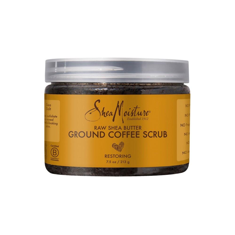 2. Raw Shea Butter Ground Coffee Scrub