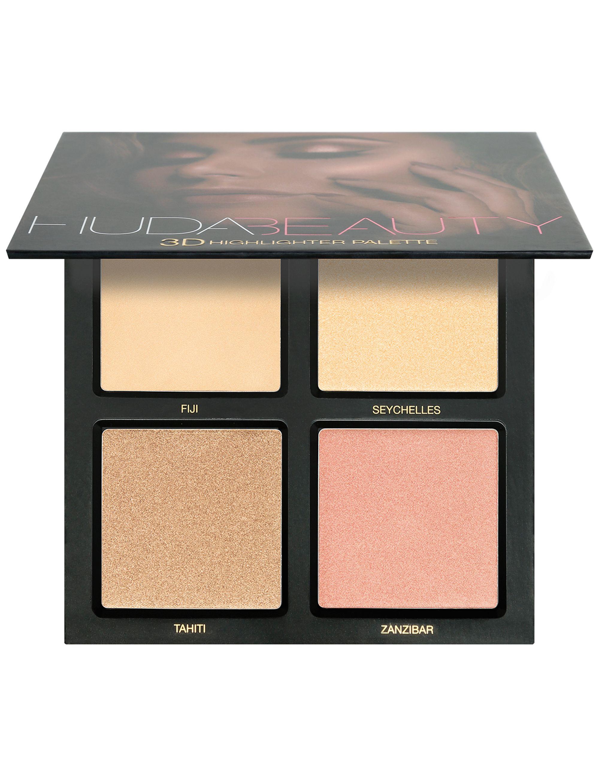 لوحة Huda Beauty 3D Highlighter Palette