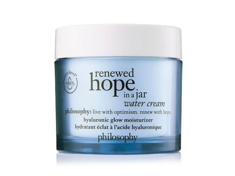 Renewed Hope in a Jar Water Cream Hyaluronic Glow Moisturizer