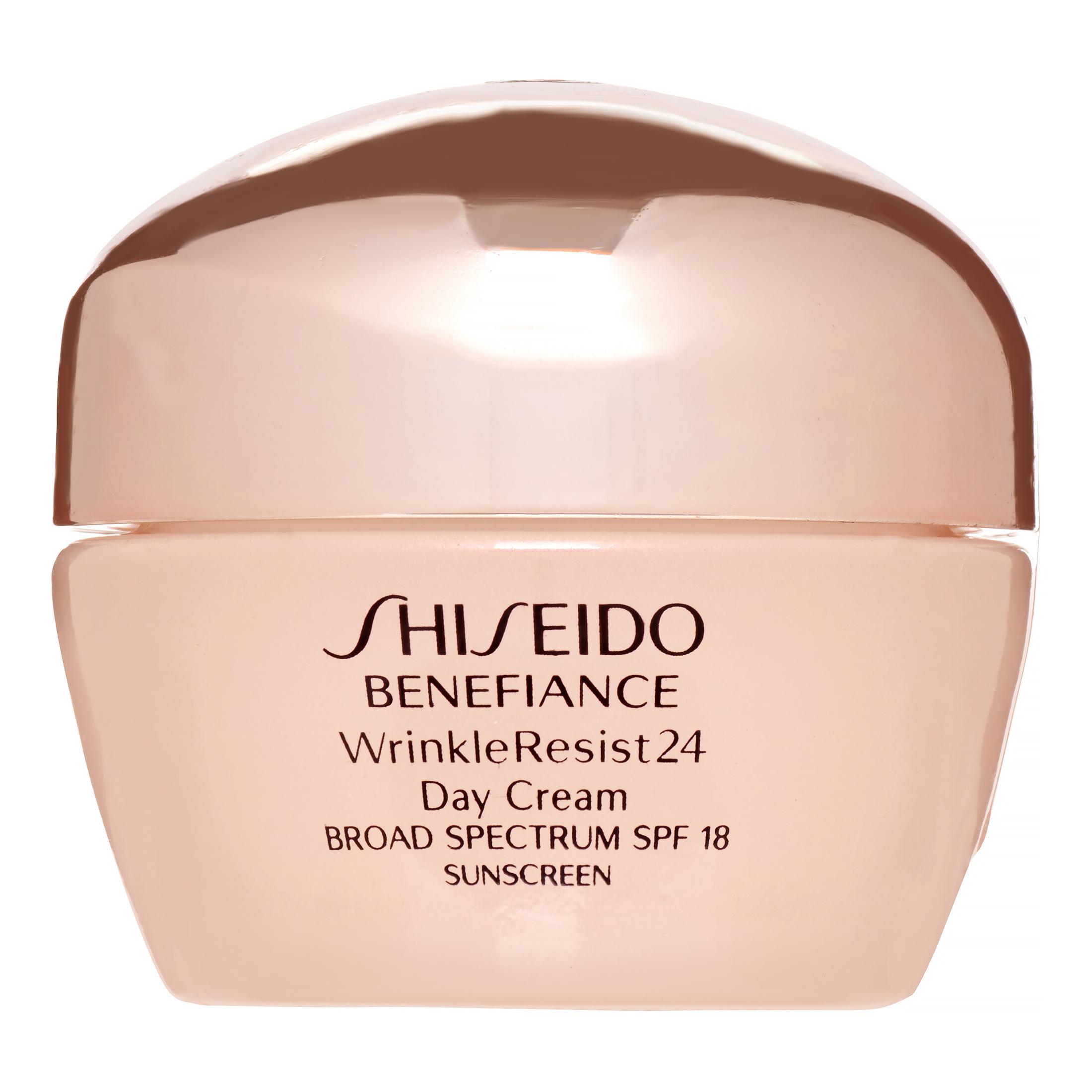 Shiseido Benefiance WrinkleResist24 Day Cream Broad Spectrum 18