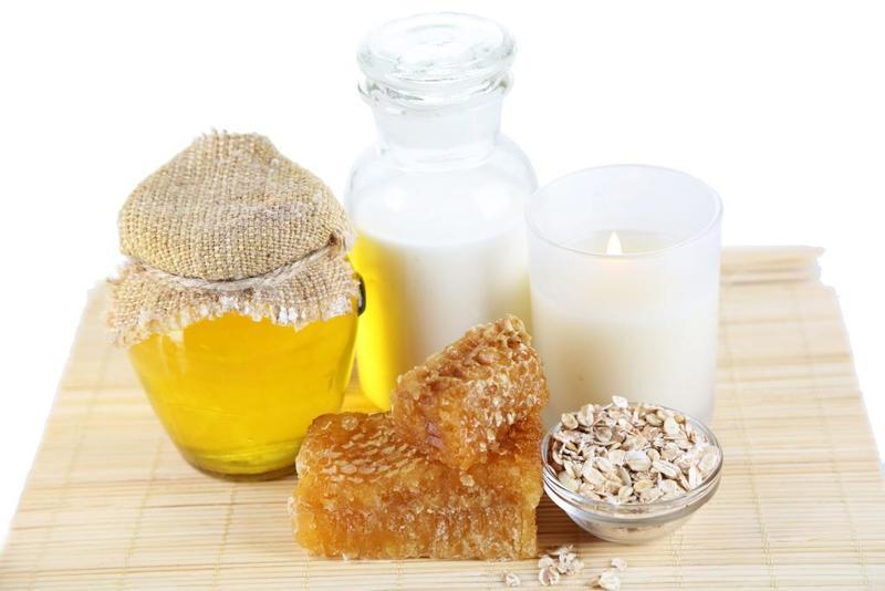 خلطة الموز واللبن وحليب جوز الهند