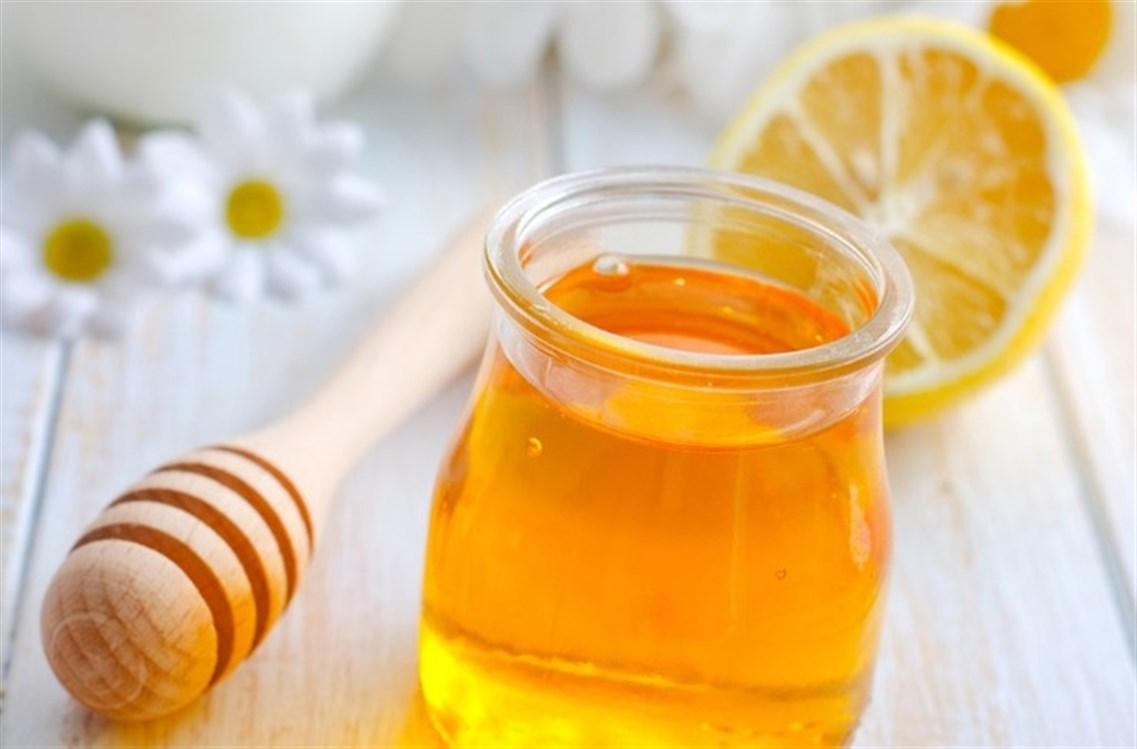 العسل وعصير الليمون