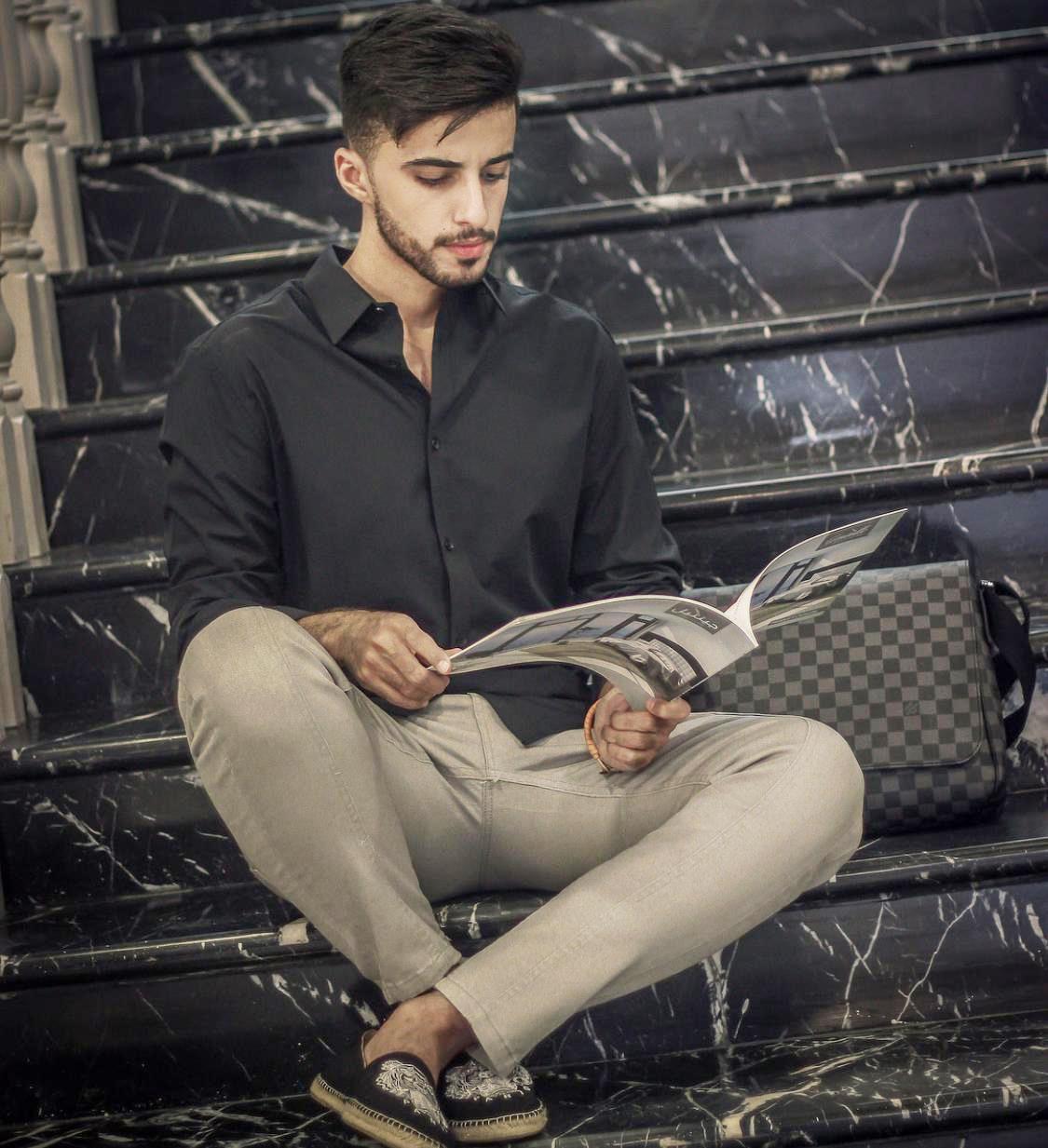 أزياء من وحي الموديل السعودي عبد اللطيف