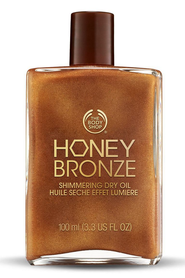 زيت The Body Shop Honey Bronze Shimmering Dry Oil
