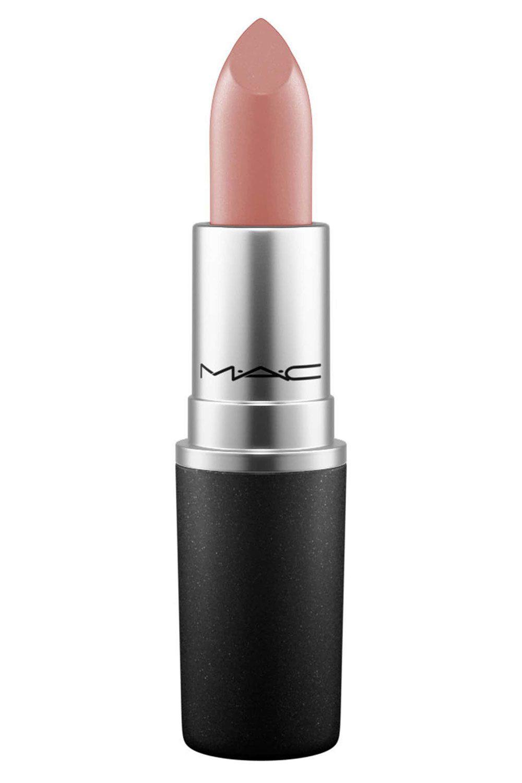 MAC Lipstick باللون الوردي- الخشبي