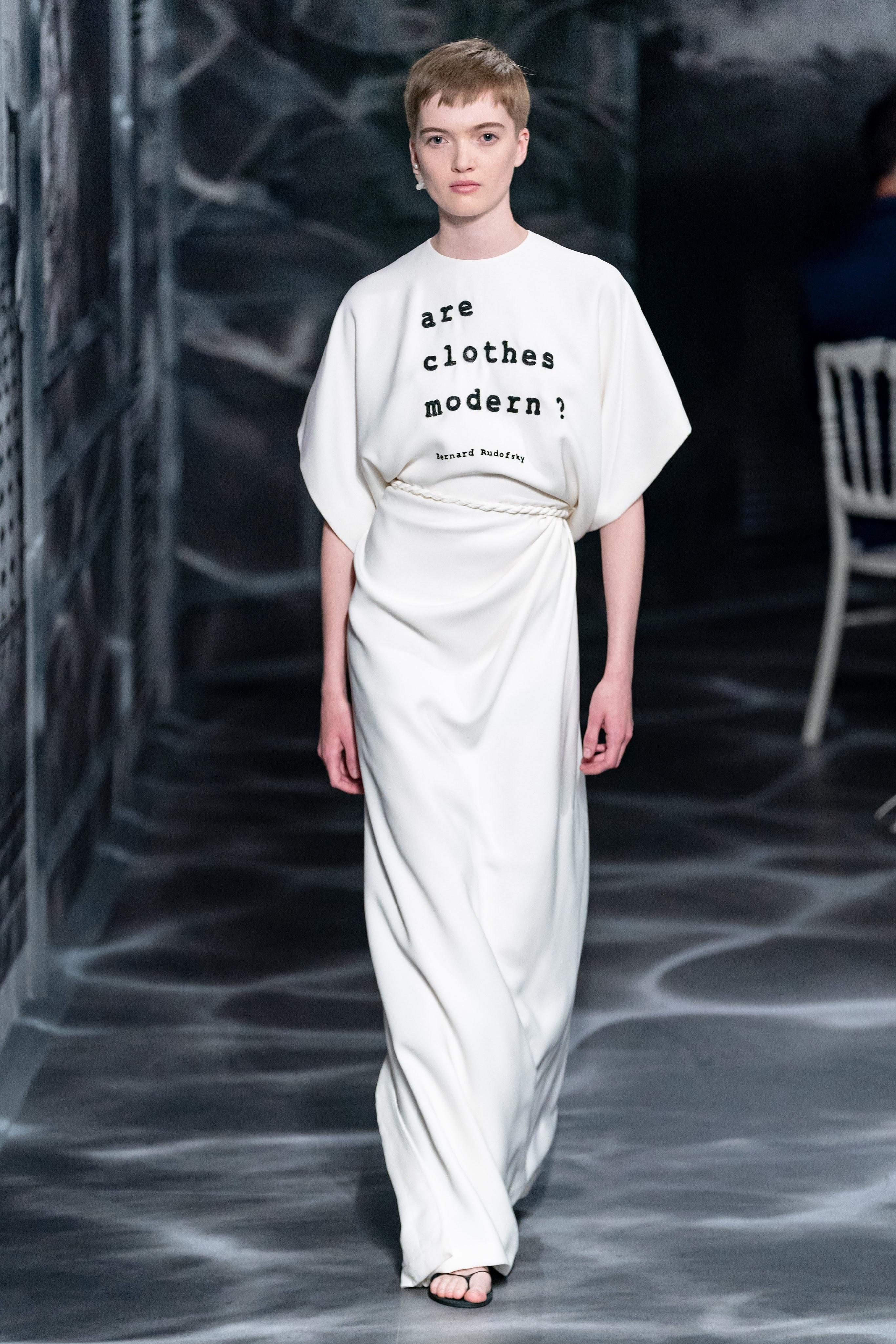 الأبيض ضمن مجموعة Dior