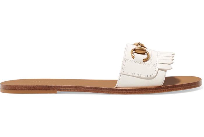 أجمل الأحذية البيضاء موضة 2019