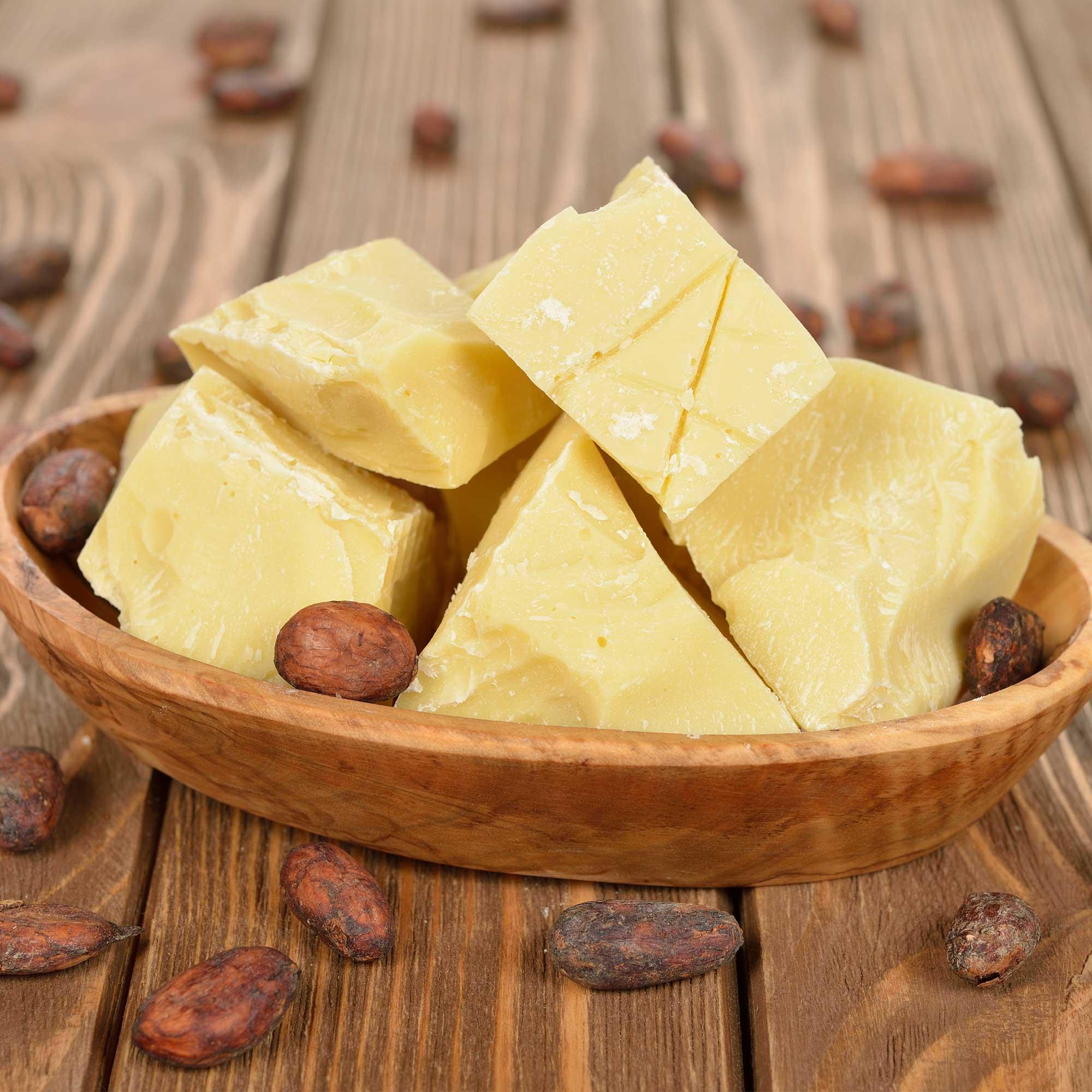 فوائد مذهلة لزبدة الكاكاو للبشرة والجسم