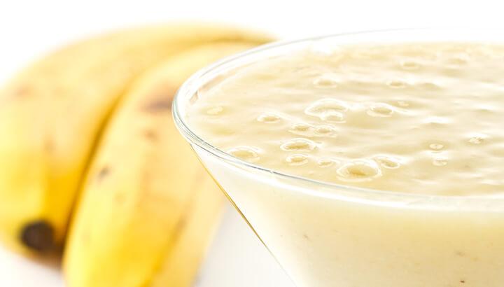 خلطة الموز والنشا