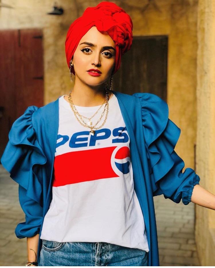 الحجاب الملون من الفاشينيستا غادة عثمان