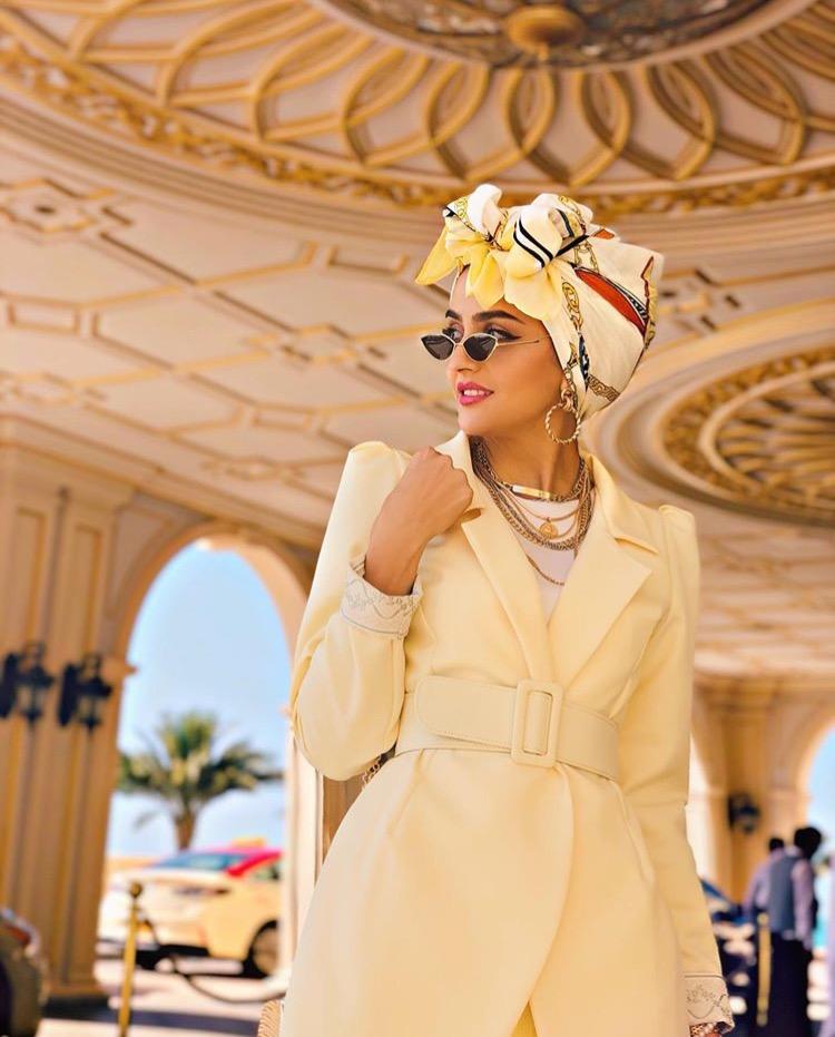 مدونة الموضة غادة عثمان