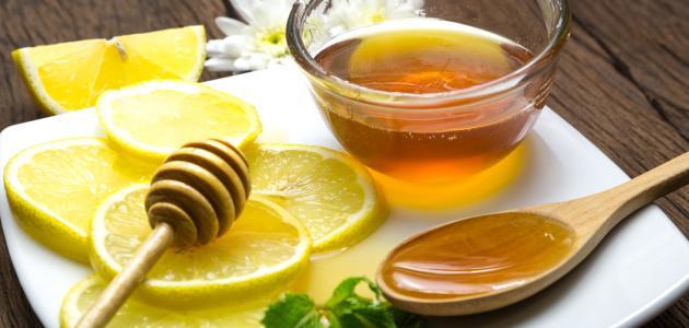 ماسك الليمون والعسل وزيت الزيتون