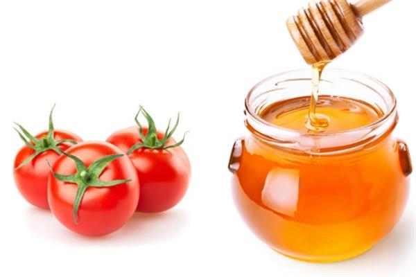 ماسك الطماطم والعسل