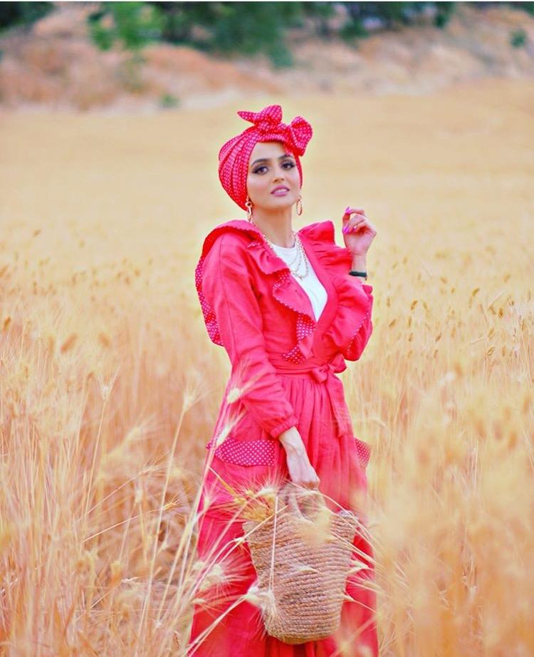 التوربان بألوان زاهية من غادة عثمان