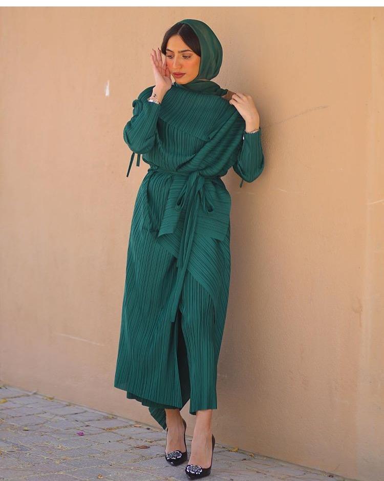 ماهي الشامي بعايه باللون الأخضر العشبي