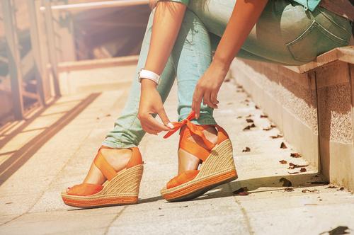 أحذية القش