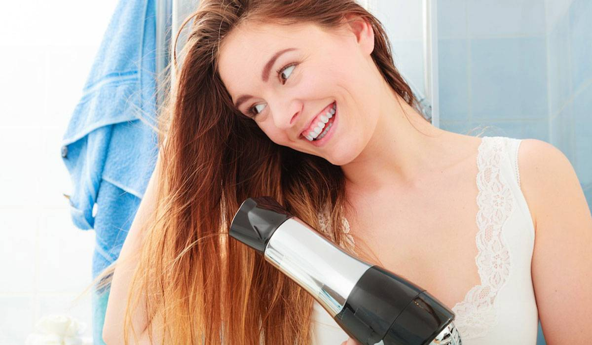 المحافظة على الشعر بعد السيشوار