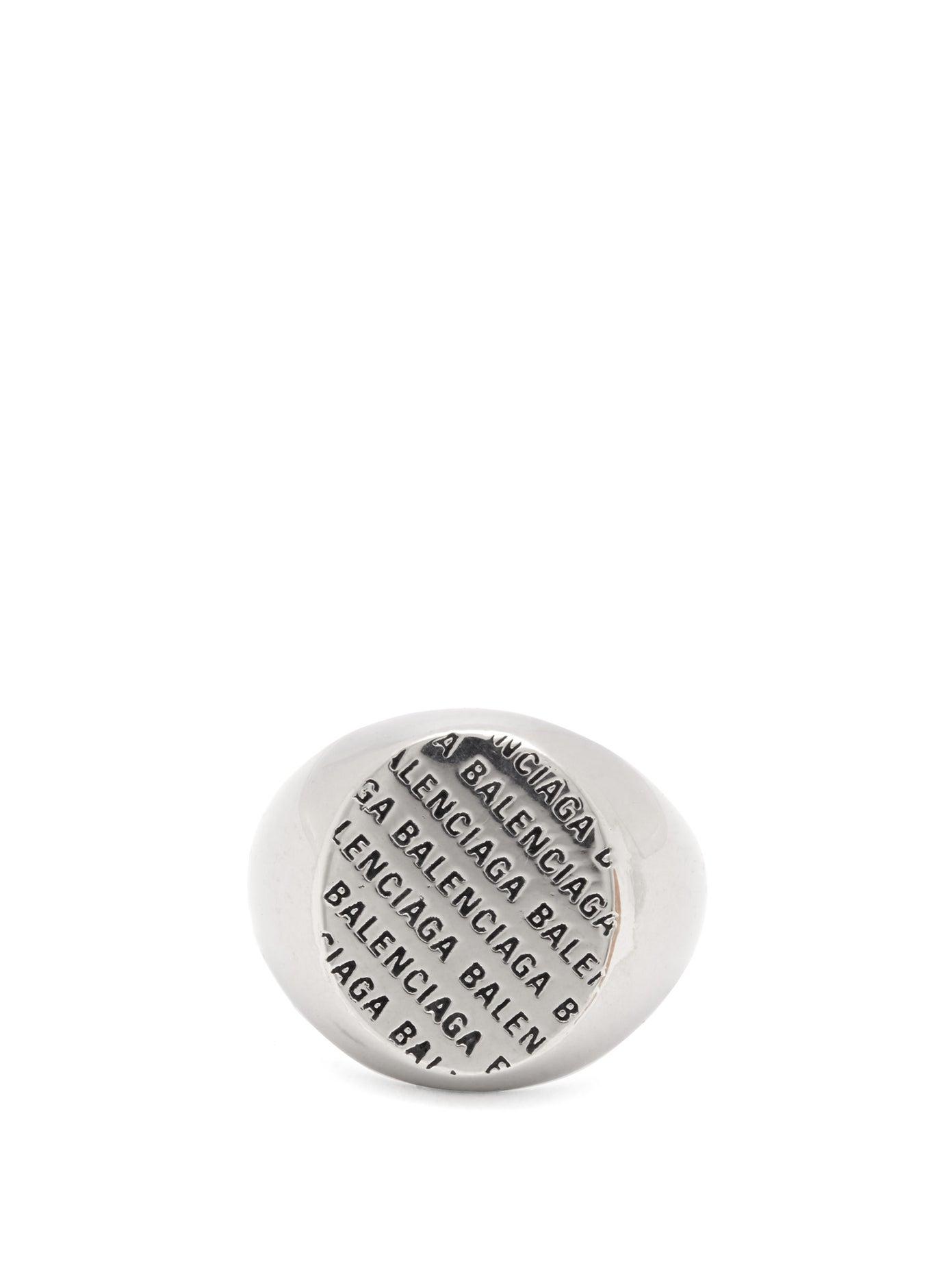 خاتم رجالي بتصميم كلاسيكي أنيق من Balenciaga