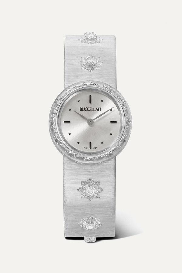 ساعة سيلفر بتصميم كلاسيكي من Buccellati