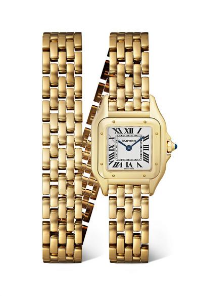 ساعة بتصميم أنيق وجذاب من Cartier