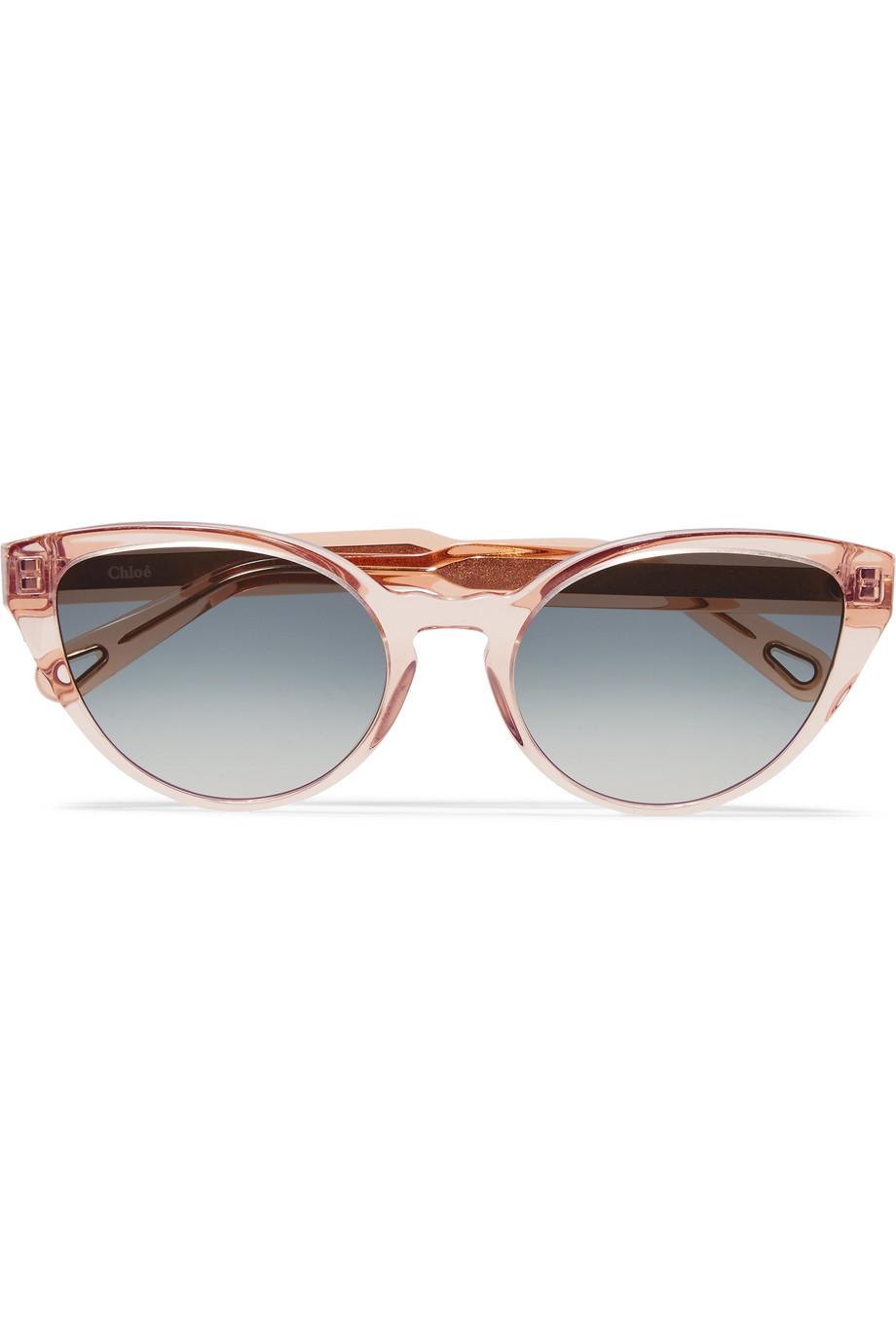 نظارات شمسية باللون الزهري المميز من Chloé