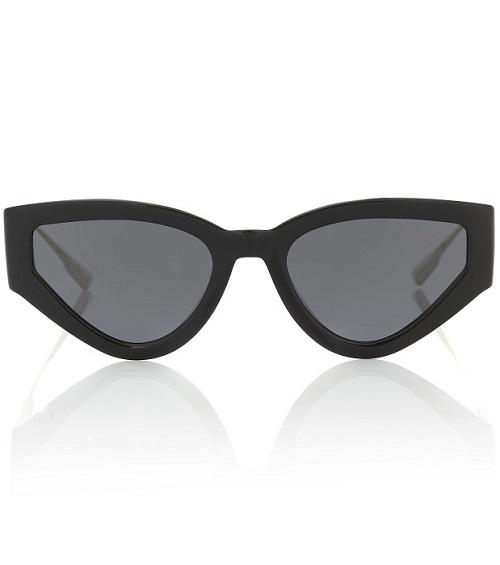 نظارات عيون القطة بإطارات مميزة من Dior