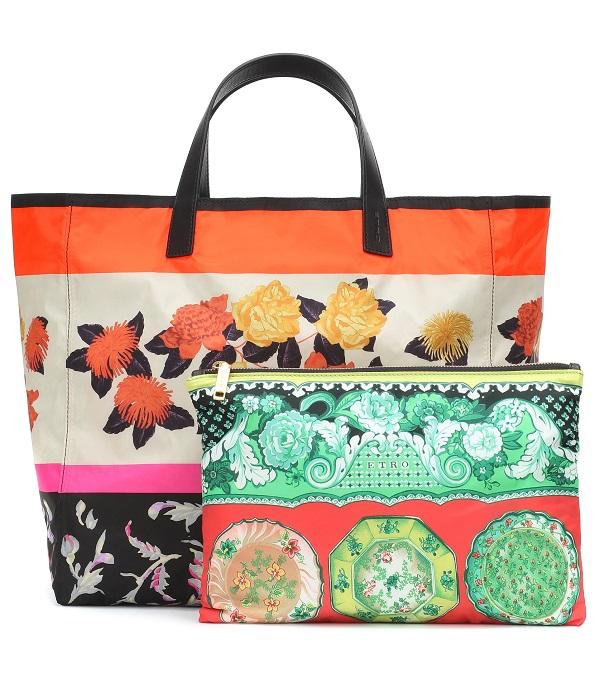 حقيبة مزدوجة متعددة الألوان من Etro