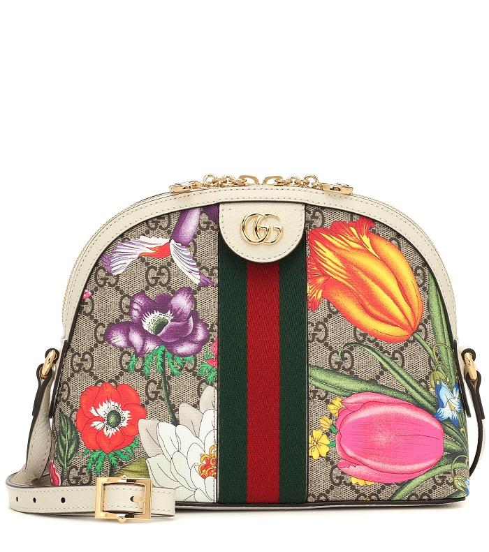 حقيبة يد ملونة بتصميم لافت من Gucci