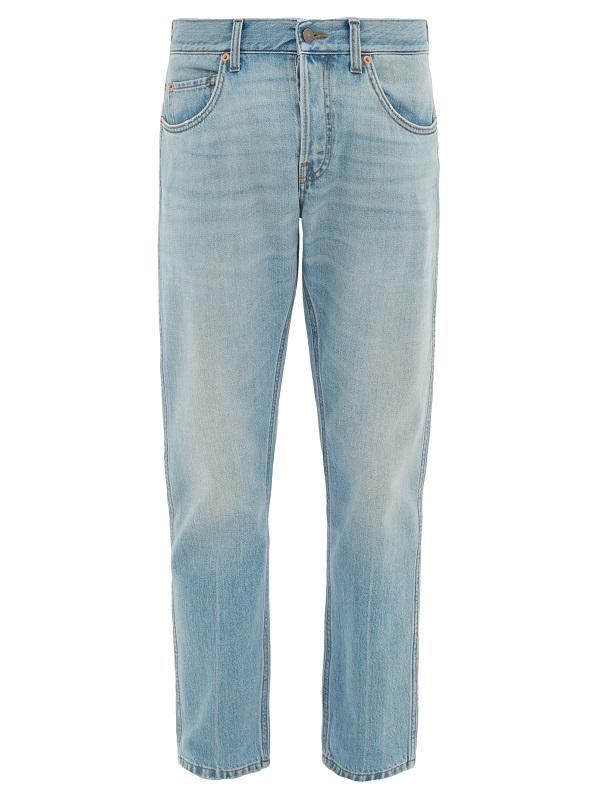 سروال جينز بأرجل مستوية من Gucci