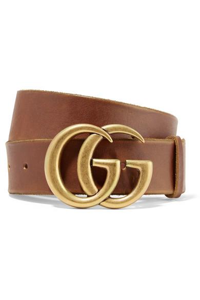 حزام باللون البني الجذاب من Gucci