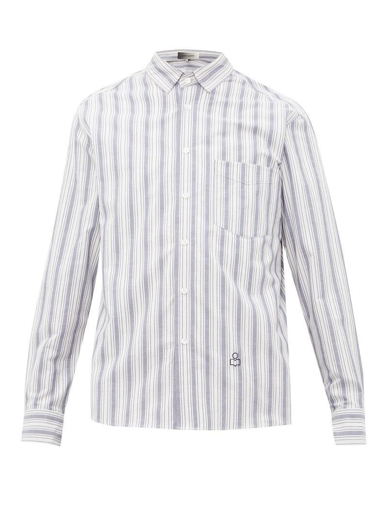 قميص بنقش طولية من Isabel Marant