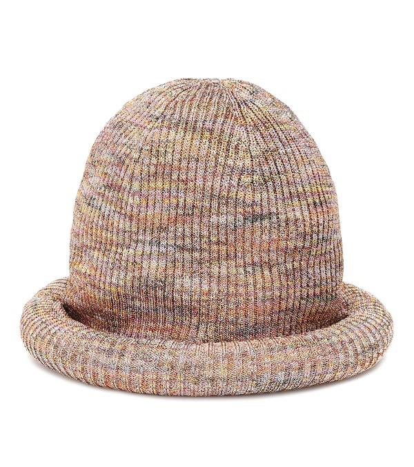 قبعة صوفية بألوان متداخلة ومتنوعة من Missoni