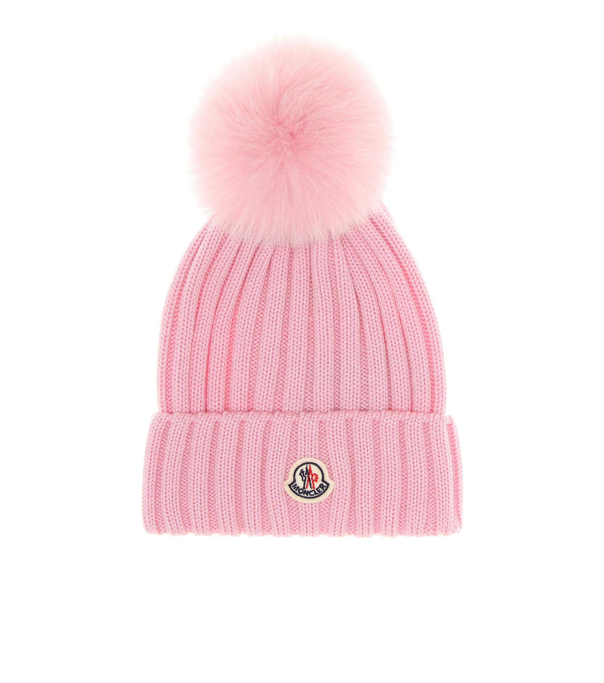 قبعة صوف من Moncler
