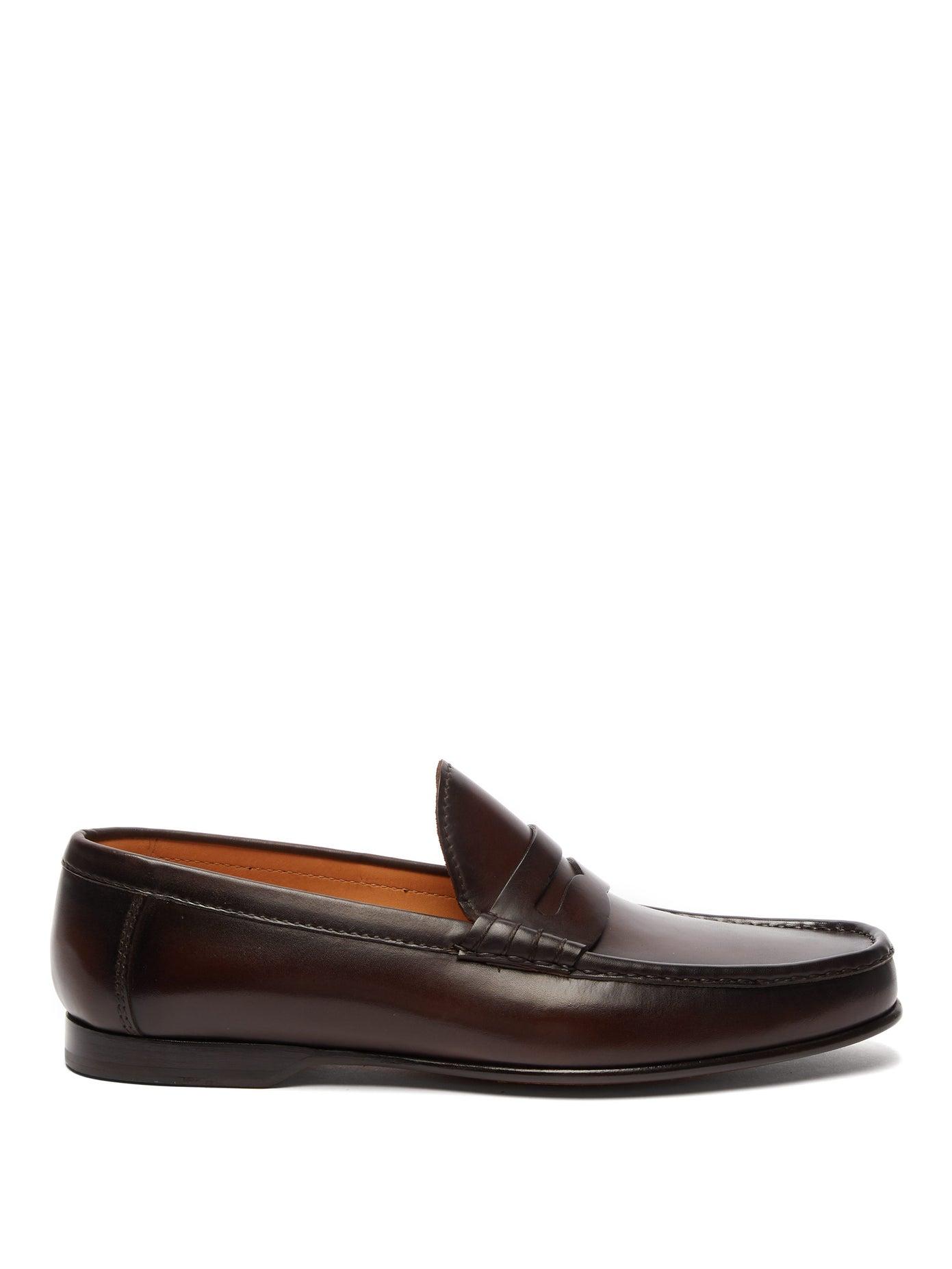 حذاء أنيق باللون البني من Ralph Lauren