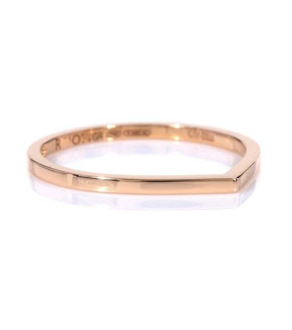 خاتم من الذهب الوردي بتصميم ناعم من Repossi