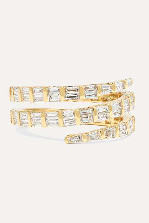 خاتم من الذهب بتصميم الأفعى من Anita Ko