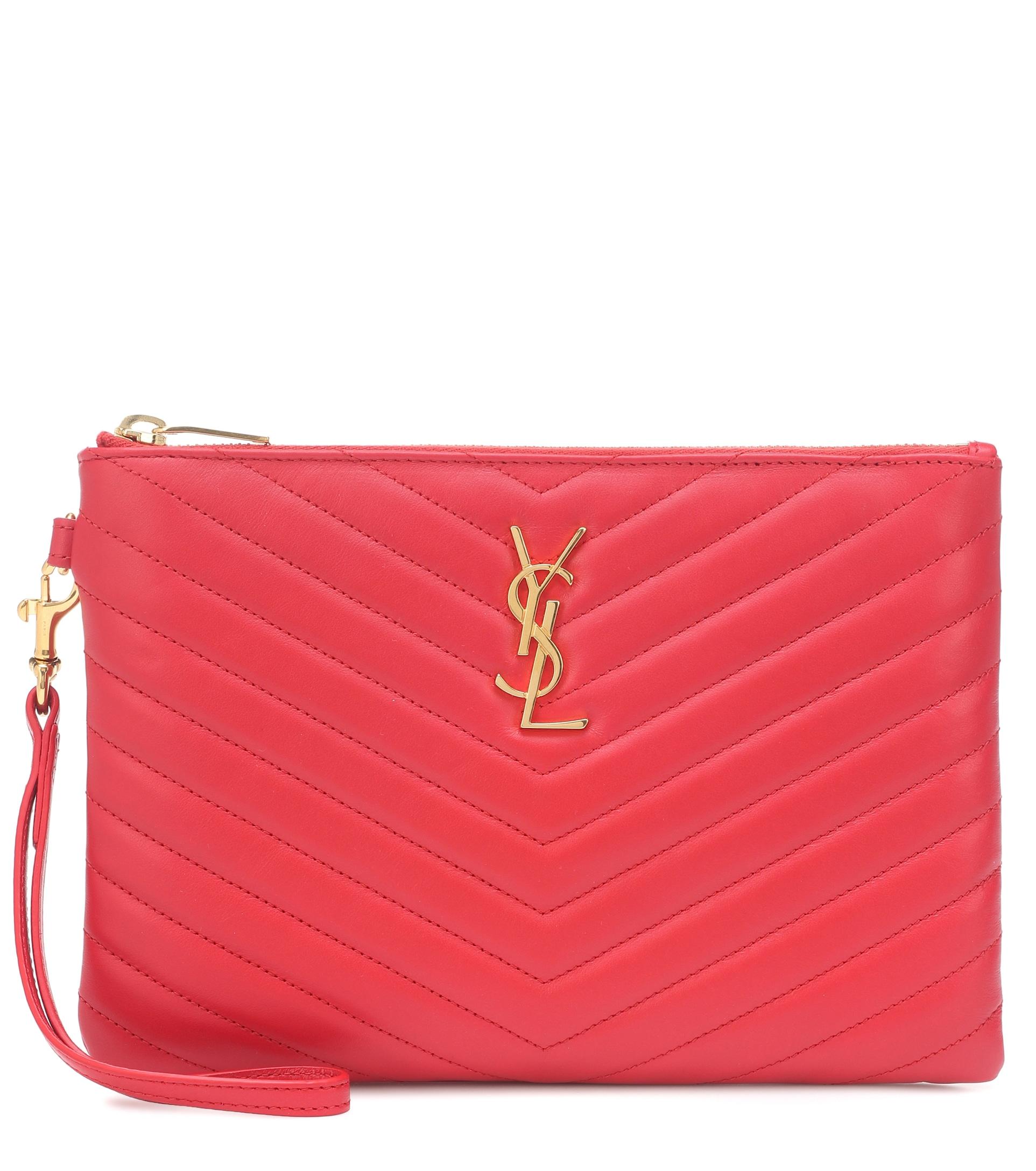 حقيبة يد كلاتش من Saint Laurent