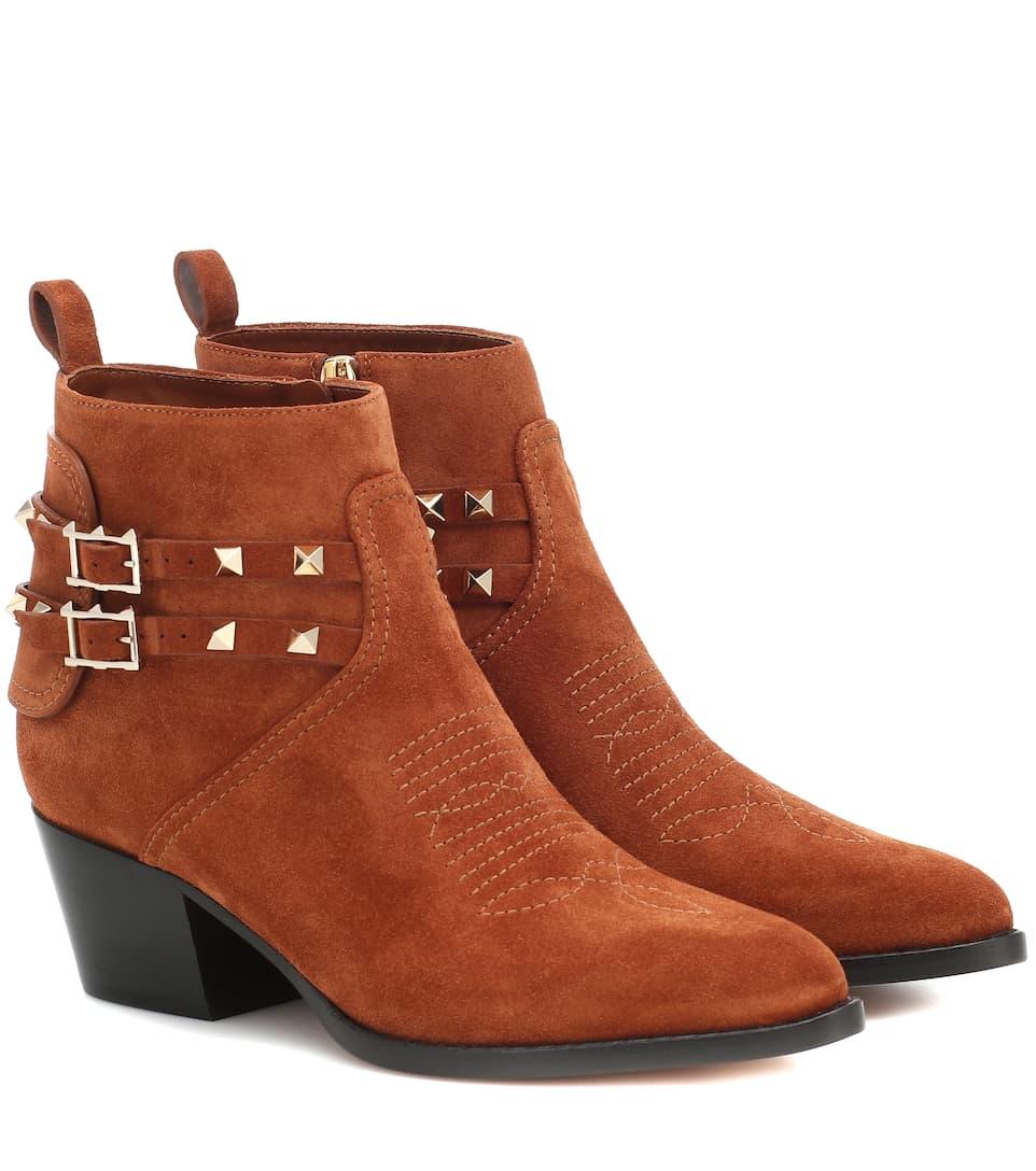 حذاء أنيق باللون البني من Valentino