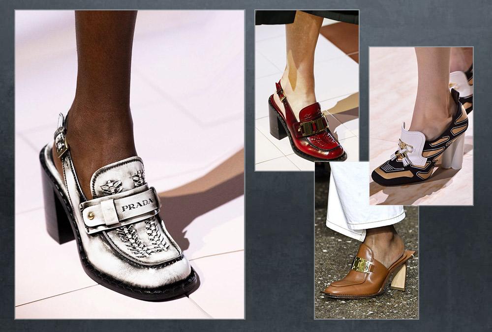 الأحذية الجلدية