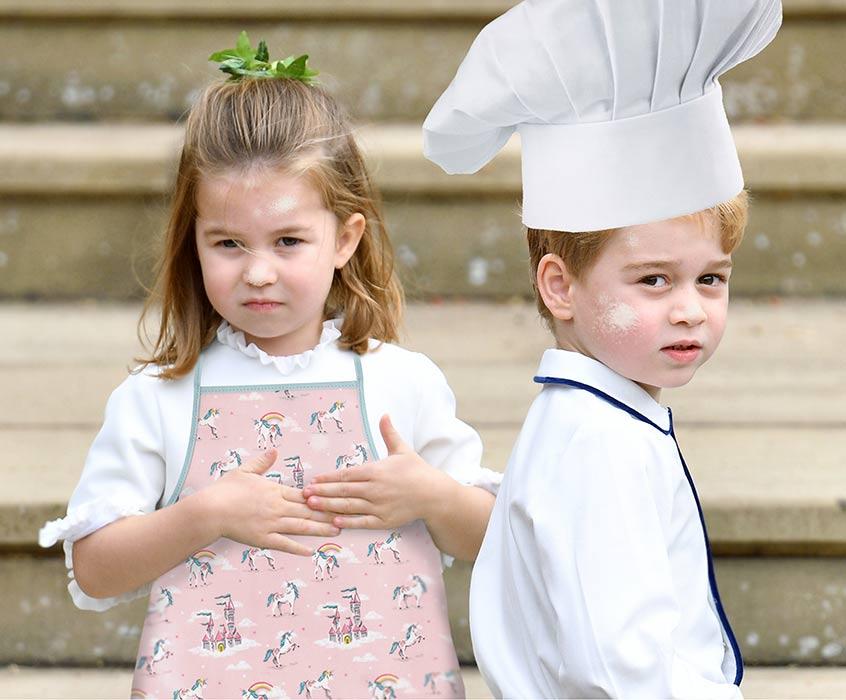 الأميرة شارلوت والأمير جورج