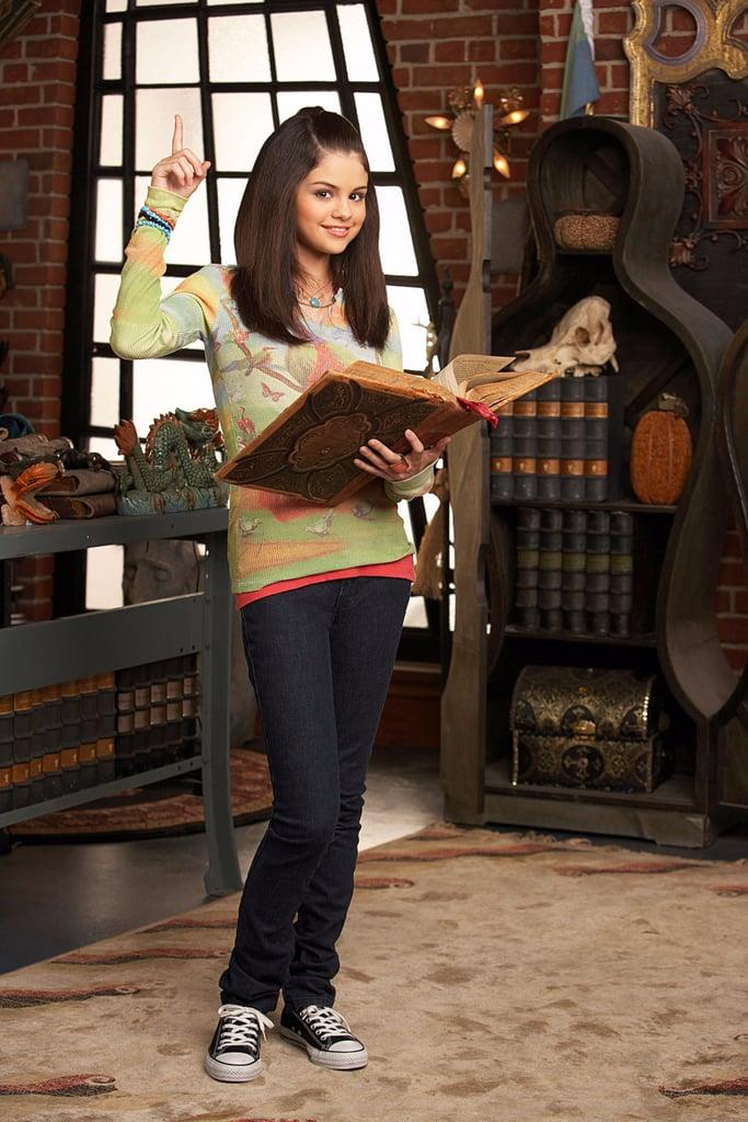 "في مسلسل "" ""Wizards of Waverly Place"