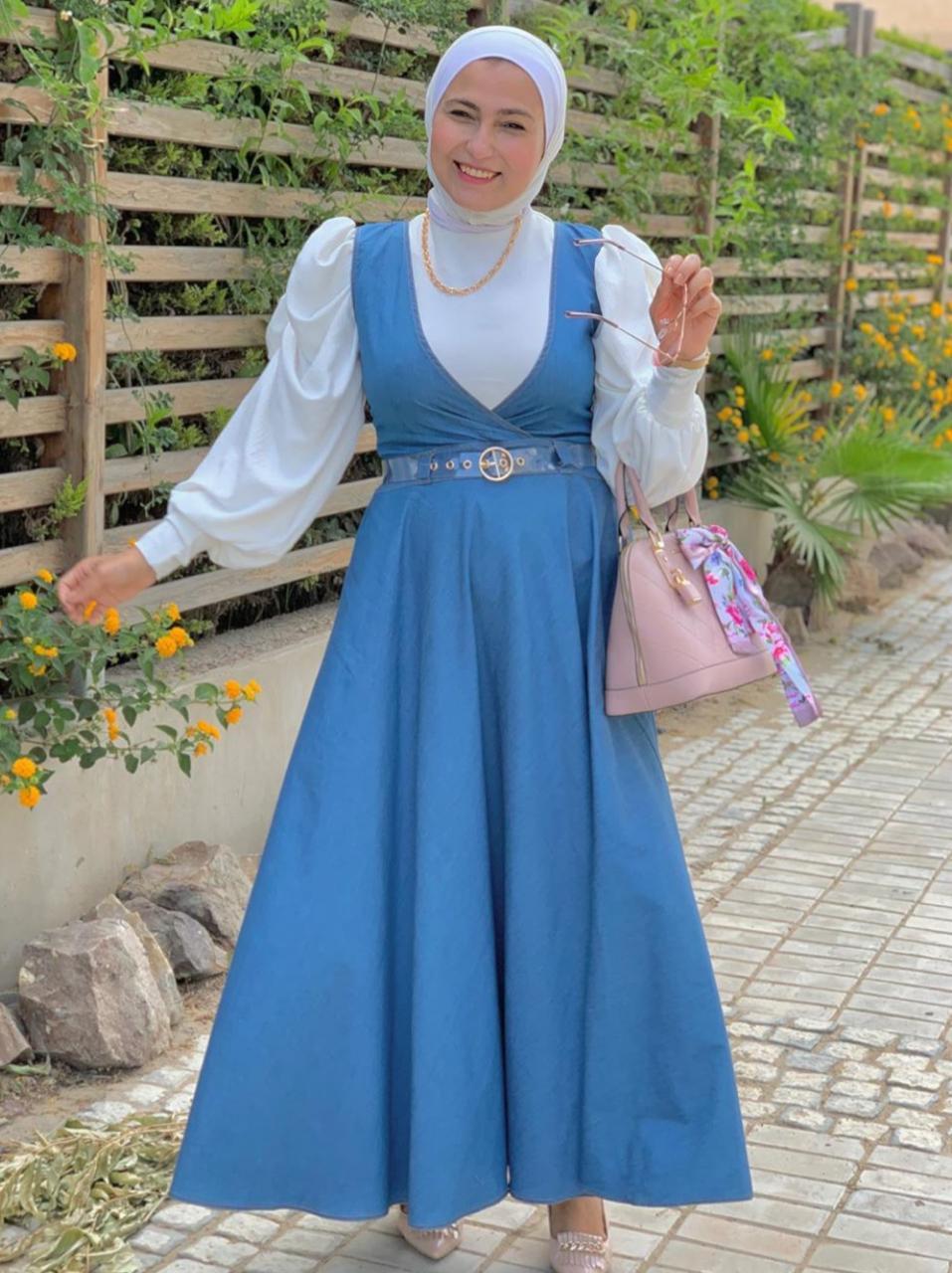 الفساتين بأسلوب الكاجوال