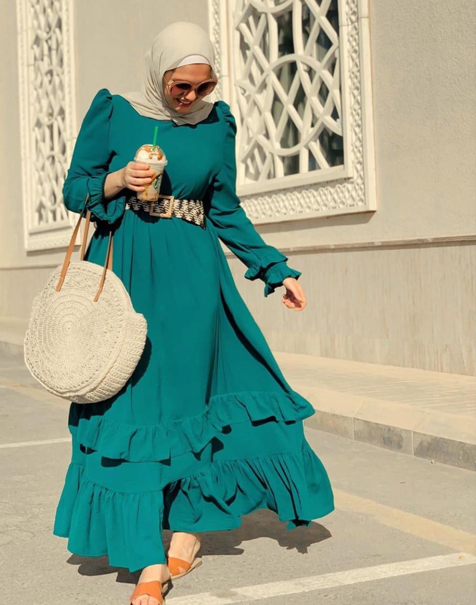 خيارات الفساتين الخضراء